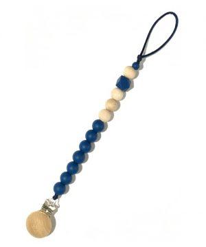 chupetero personalizado azul liso