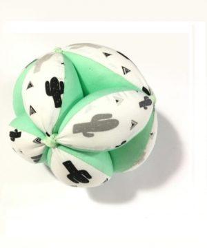pelota montessori verde mint cactus