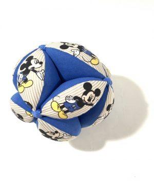 Pelota Montessori Mickey azul