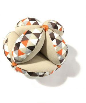 pelota montessori marron figuras