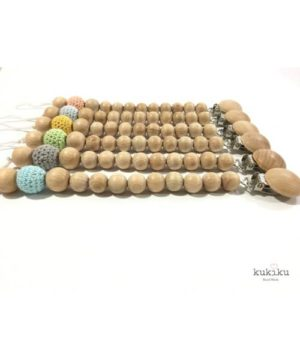 chupeteros silicona madera-crochet