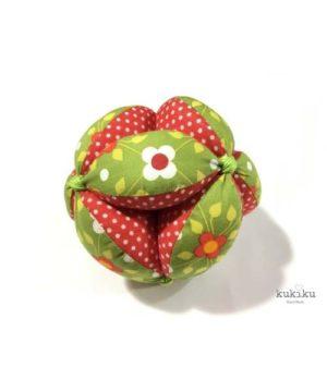 Pelota Montessori verde-topos