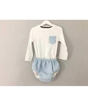 Conjunto culotte-camiseta
