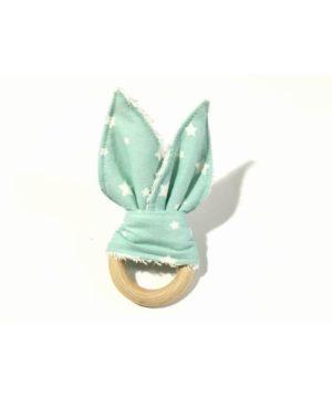Mordedor tela rabbit mint-estrella