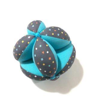 Pelota Montessori azul