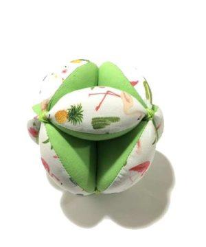 Pelota Montessori verde