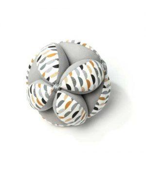 pelota montessori gris
