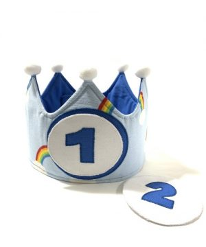 corona cumpleaños arco-iris_1