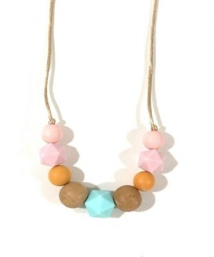 collar lactancia rosa-mint