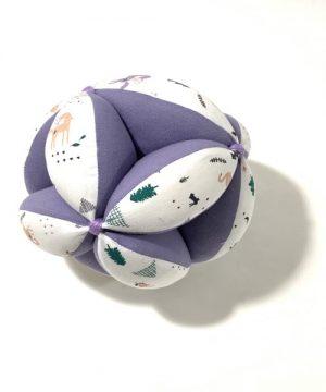 pelota montessori lila