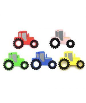 Mordedores tractores multicolor